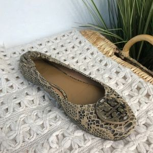 Tory Burch Python Reva Ballet Shoe (1 Single Shoe)